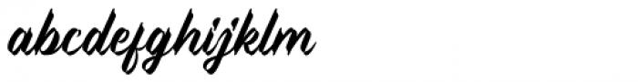 Sweet Pancake Font LOWERCASE