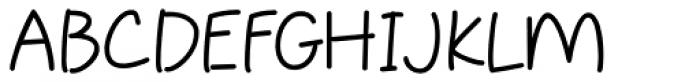 Sweet Pea Font UPPERCASE