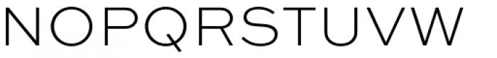Sweet Sans Pro ExtraLight Font UPPERCASE