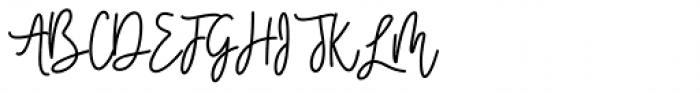 Sweet Youth Regular Font UPPERCASE