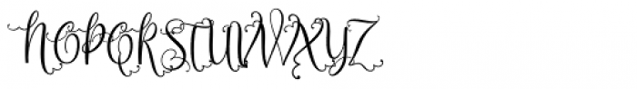 Sweetgentle Regular Font UPPERCASE