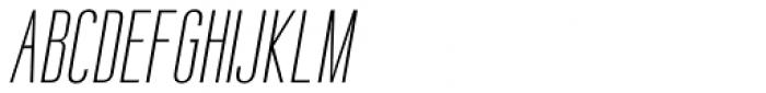 Sweetmix 1 Italic Font UPPERCASE