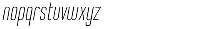 Sweetmix 1 Italic Font LOWERCASE