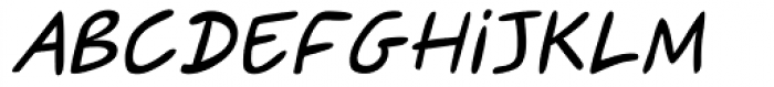 Sweety Italic Font UPPERCASE