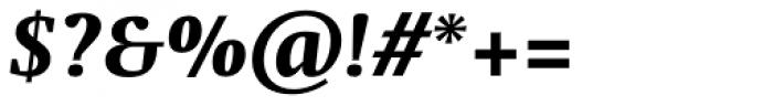 Swift Pro Heavy Italic Font OTHER CHARS