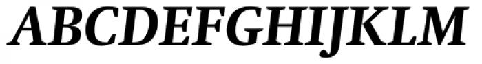 Swift Pro Heavy Italic Font UPPERCASE