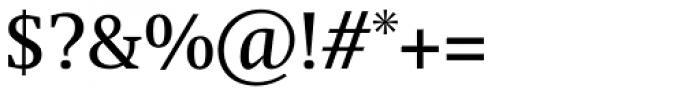 Swift Std Regular Font OTHER CHARS