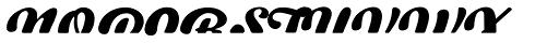 Swiftel Fill Font UPPERCASE