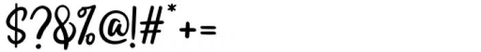 Swingset Regular Font OTHER CHARS