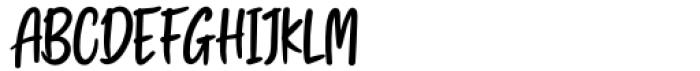 Swingset Regular Font UPPERCASE