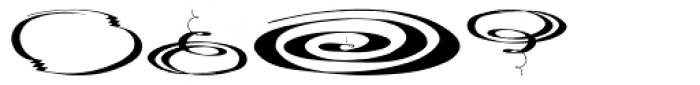 Swirls Font OTHER CHARS