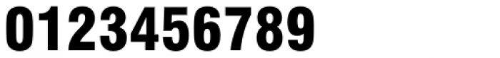 Swiss 721 Black Condensed Font OTHER CHARS