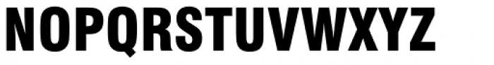Swiss 721 Black Condensed Font UPPERCASE