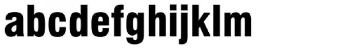 Swiss 721 Black Condensed Font LOWERCASE