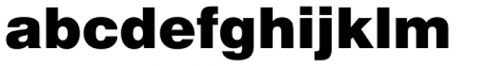 Swiss 721 Black Font LOWERCASE