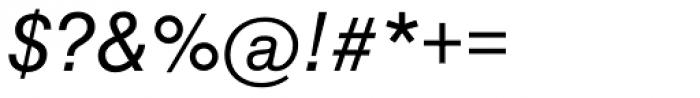 Swiss 721 Italic Font OTHER CHARS