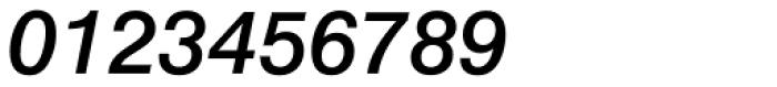 Swiss 721 Medium Italic Font OTHER CHARS