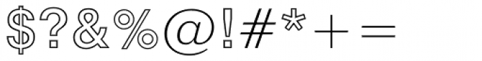 Swiss 721 Std Bold Outline Font OTHER CHARS