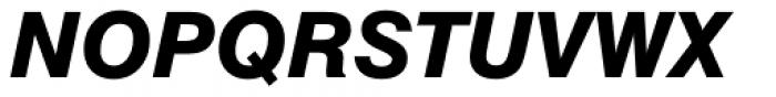 Swiss 721 Std Heavy Italic Font UPPERCASE