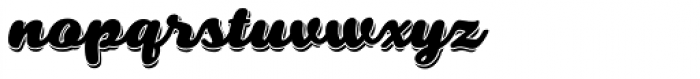 Swivel Shadow Font LOWERCASE