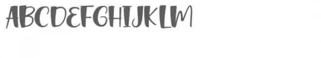 Sweet Bread Font UPPERCASE