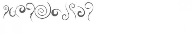 swirlies doodlebat Font OTHER CHARS