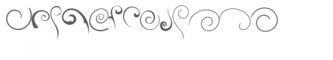 swirlies doodlebat Font LOWERCASE