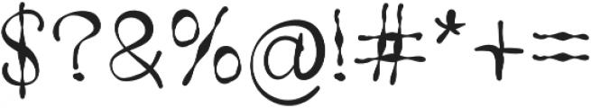 SX Trippy V1 Regular otf (400) Font OTHER CHARS