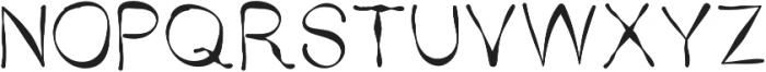 SX Trippy V1 Regular otf (400) Font UPPERCASE