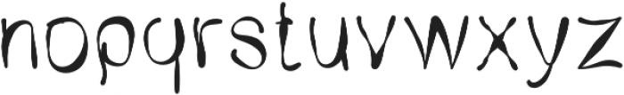 SX Trippy V1 Regular otf (400) Font LOWERCASE