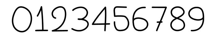 SX Write II Light Font OTHER CHARS
