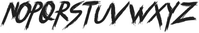 SYEMOX italic otf (400) Font UPPERCASE