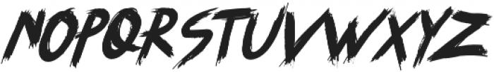 SYEMOX italic otf (400) Font LOWERCASE
