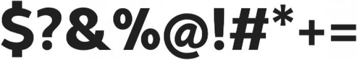Syabil Extrabold otf (700) Font OTHER CHARS
