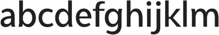 Syabil Medium otf (500) Font LOWERCASE