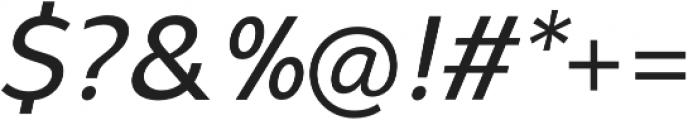 Syabil Regular Italic otf (400) Font OTHER CHARS