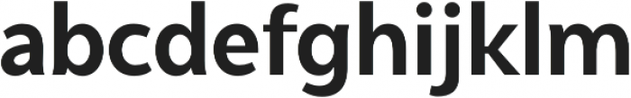 Syabil otf (700) Font LOWERCASE