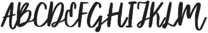 Syberic Regular otf (400) Font UPPERCASE