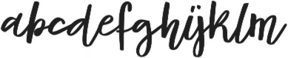 Syberic Regular otf (400) Font LOWERCASE