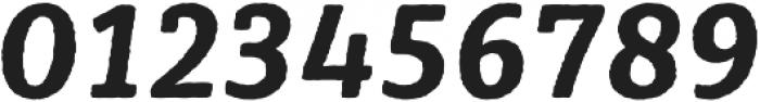 Sybilla Rough Pro Narrow Bold Italic otf (700) Font OTHER CHARS