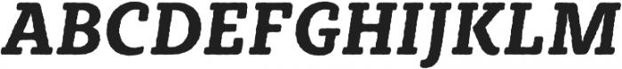 Sybilla Rough Pro Narrow Bold Italic otf (700) Font UPPERCASE