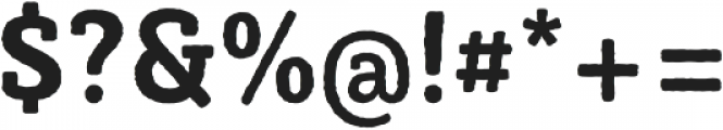 Sybilla Rough Pro Narrow Bold otf (700) Font OTHER CHARS