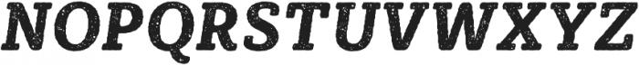 Sybilla Rust Pro Narrow Bold Italic otf (700) Font UPPERCASE