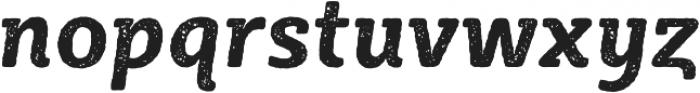 Sybilla Rust Pro Narrow Bold Italic otf (700) Font LOWERCASE