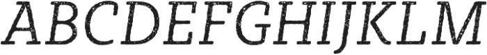 Sybilla Rust Pro Narrow Light Italic otf (300) Font UPPERCASE