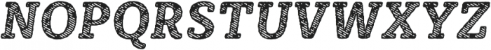 Sybilla Stroke Pro Narrow Bold Italic otf (700) Font UPPERCASE