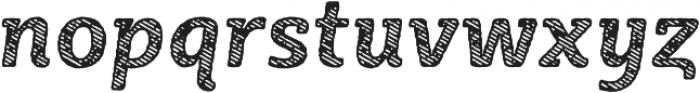 Sybilla Stroke Pro Narrow Bold Italic otf (700) Font LOWERCASE