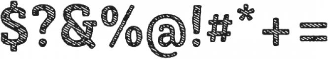 Sybilla Stroke Pro Narrow Bold otf (700) Font OTHER CHARS