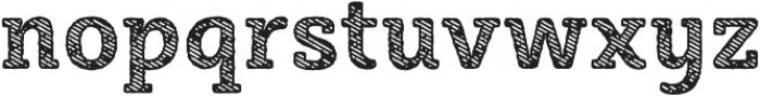 Sybilla Stroke Pro Narrow Bold otf (700) Font LOWERCASE