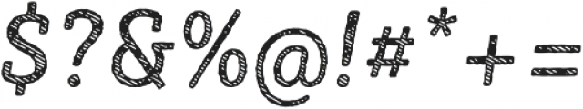 Sybilla Stroke Pro Narrow Regular Italic otf (400) Font OTHER CHARS